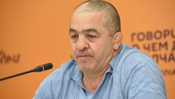Левон Джулфалакян на пресс-конференции по теме своей отставки (27 августа 2019). Еревaн - Sputnik Արմենիա