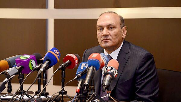 Председатель КГД Гагик Хачатрян на итоговом заседании 2012 года (28 декабря 2012). Еревaн - Sputnik Արմենիա