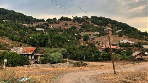 Вид на село Антарамеч, Гегаркуник - Sputnik Армения