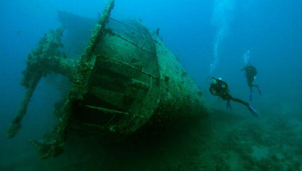 Затонувший корабль  - Sputnik Армения