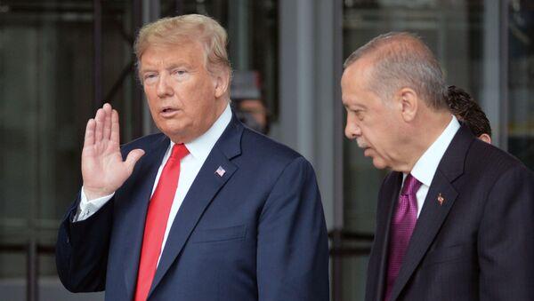 Дональд Трамп и Реджепт Эрдоган - Sputnik Армения