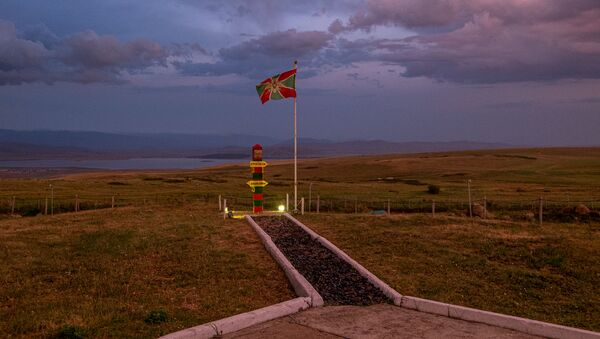 Пограничная застава на армяно-турецкой границе - Sputnik Արմենիա