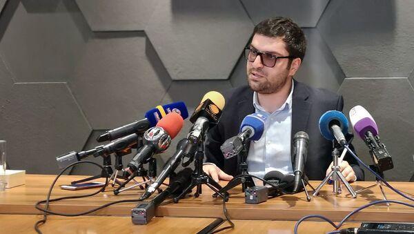 Пресс-конференция Геворга Тамамяна (3 сентября 2019). Еревaн - Sputnik Արմենիա