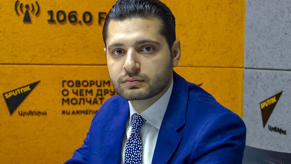 Губернатор Армавира Амбарцум Матевосян - Sputnik Արմենիա