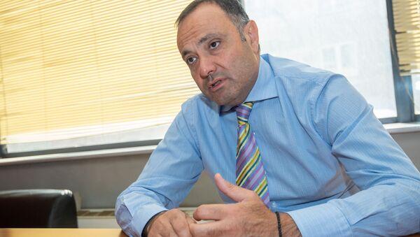 Чрезвычайный и Полномочный посол Армении в России Вардан Тоганян во время интервью агенству Sputnik Армения - Sputnik Армения