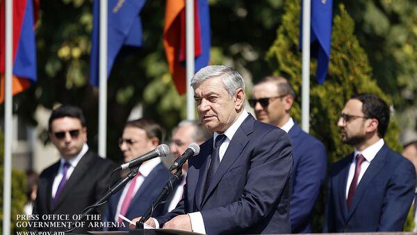 Глава МЧС Армении Феликс Цолакян - Sputnik Армения