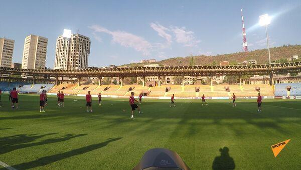 Тренировка сборных Армении и Италии по футболу - Sputnik Արմենիա