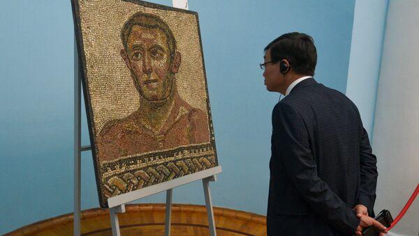 Выставка мозаик Древнего Рима из собрания Капитолийского музея - Sputnik Արմենիա