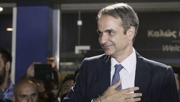 Парламентские выборы в Греции. Кириакос Мицотакис - Sputnik Армения