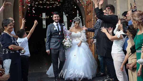 Women's Club-ի Գրիգն ու Սոնա Եսայանն ամուսնացել են - Sputnik Արմենիա