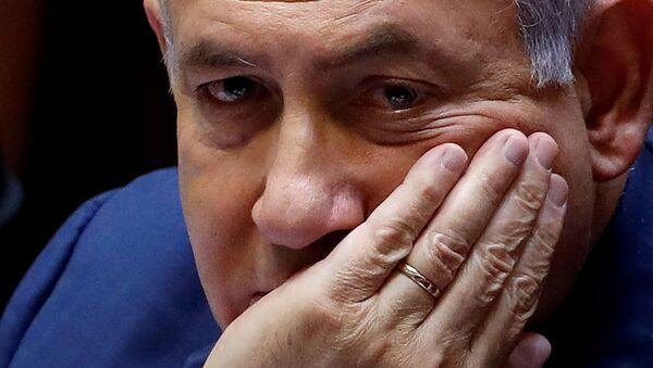 Премьер-министр Израиля Биньямин Нетаньяху на пленуме в Кнессете (30 мая 2019). Иерусалим - Sputnik Армения