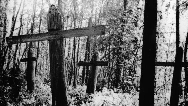 Безымянные могилы политзаключенных в Соловецком лагере особого назначения. - Sputnik Արմենիա