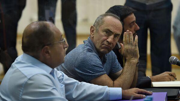 Роберт Кочарян во время судебного заседания по делу 1 марта (17 сентября 2019). Еревaн - Sputnik Արմենիա