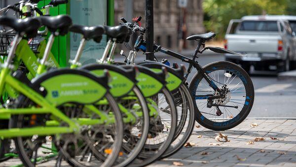 Стоянка для велосипедов в аренду - Sputnik Արմենիա