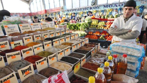 Работа Шарташского рынка в Екатеринбурге - Sputnik Армения