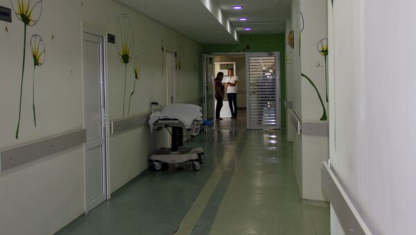 Отделением реанимации Медицинского центра Сурб Аствацамайр  - Sputnik Արմենիա