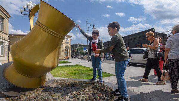 Праздничные гулянья в День Независимости Армении (21 сентября 2019). Гюмри - Sputnik Արմենիա