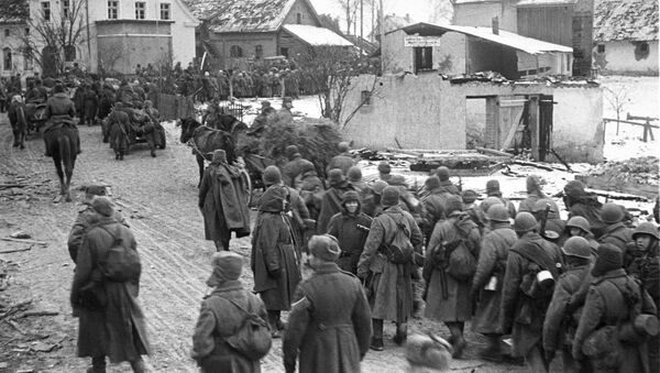 Бойцы 11-й гвардейской армии после штурма Кёнигсберга - Sputnik Армения