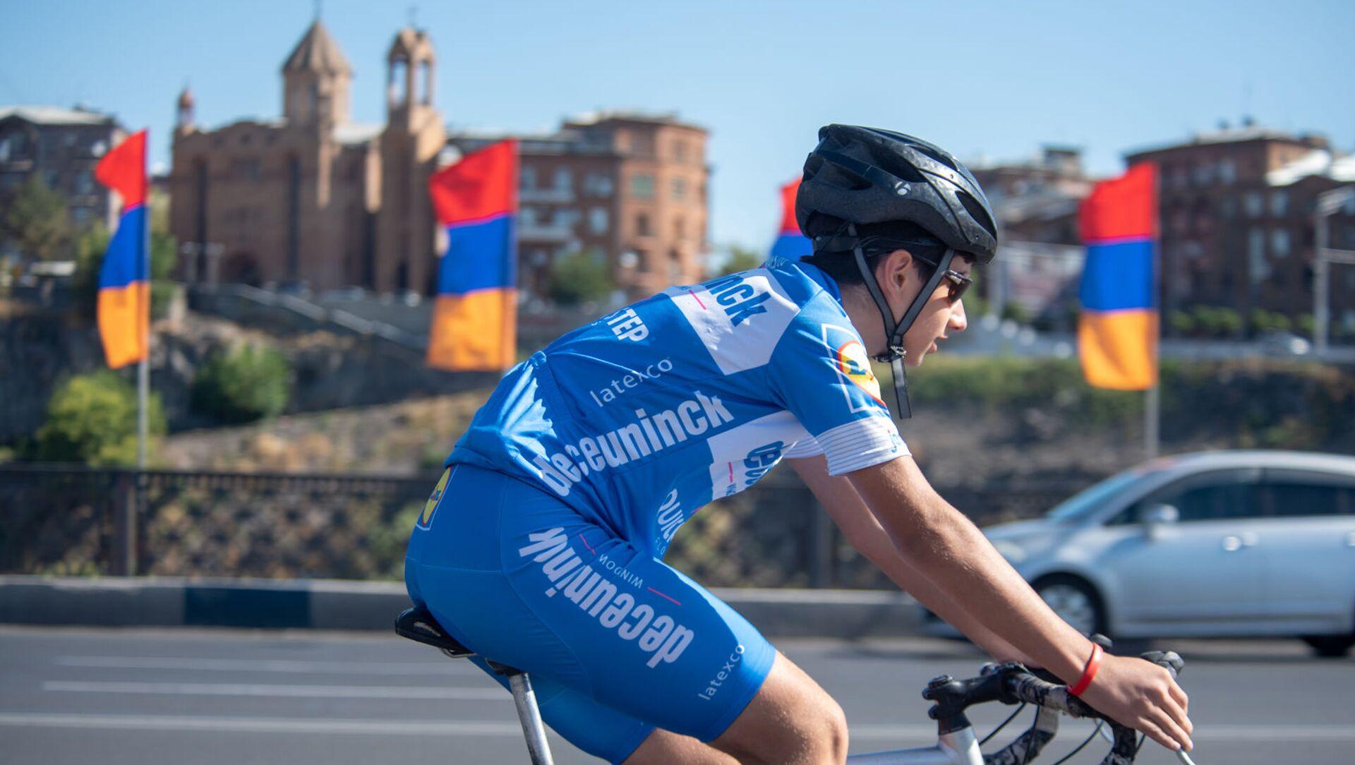 Велосипедный марафон Велотон Ереван (22 сентября 2019). Ереван - Sputnik Արմենիա, 1920, 07.06.2021