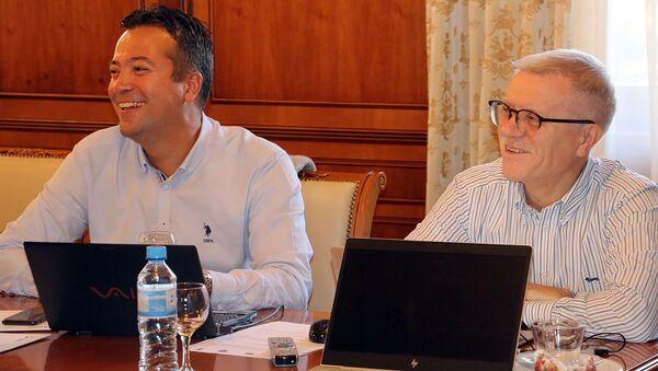 Эксперты Института статистических исследований и экономики знаний НИУ ВШЭ провели тренинг в Армении (23 сентября 2019). Цахкадзор - Sputnik Армения