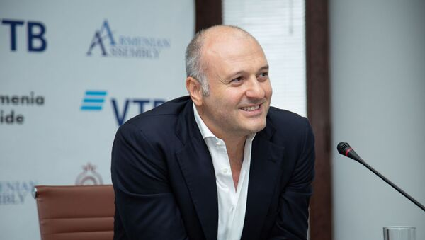 Председатель президиума общественного совета общественной организации Ассамблея Армян Ваге Енгибарян - Sputnik Армения