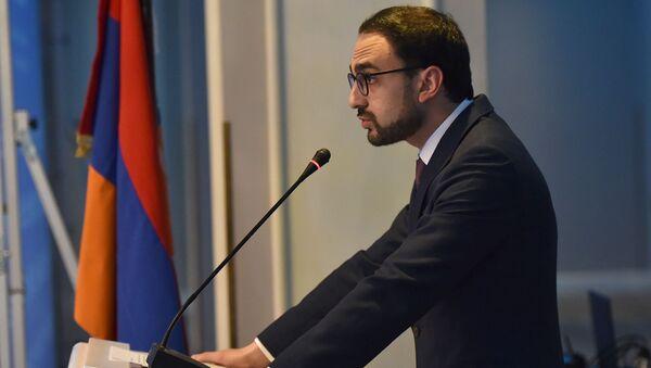 Вице-премьер Армении Тигран Авинян - Sputnik Армения
