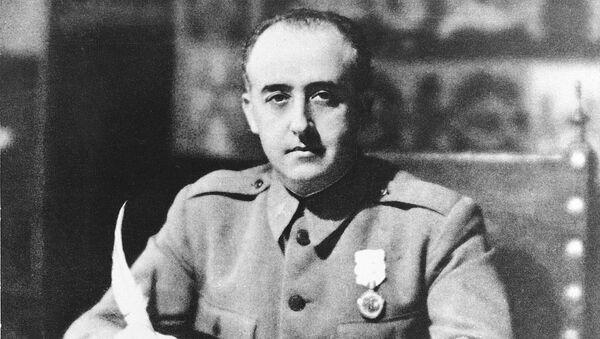 Генерал Франсиско Франко (1936 год) - Sputnik Армения
