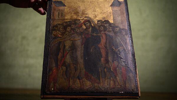 Картина под названием Издевательство над Христом флорентийского художника Ченни Ди Пепо (13 век) - Sputnik Արմենիա