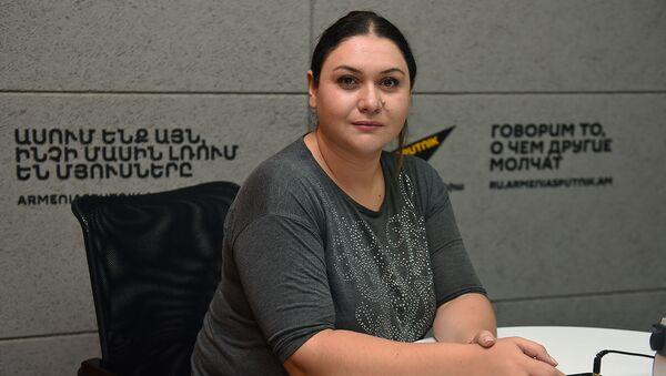 Анжела Элибегова - Sputnik Արմենիա