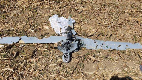 Армия обороны Карабаха опубликовала фотографии сбитого беспилотника ORBITER-2 - Sputnik Армения