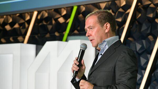 Рабочая поездка премьер-министра РФ Д. Медведева в Великий Новгород - Sputnik Армения