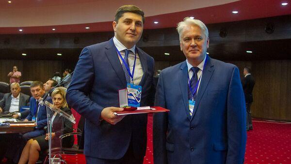 Конференция в честь 15-летия Национального бюро экспертиз Армении (25 сентября 2019). Еревaн - Sputnik Армения
