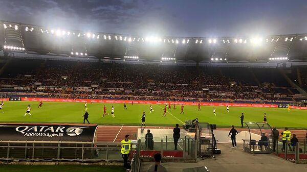 Стадион Олимпико во время футбольного матча итальянской Серии А между командами Рома и Аталанта (25 сентября 2019). Рим - Sputnik Արմենիա