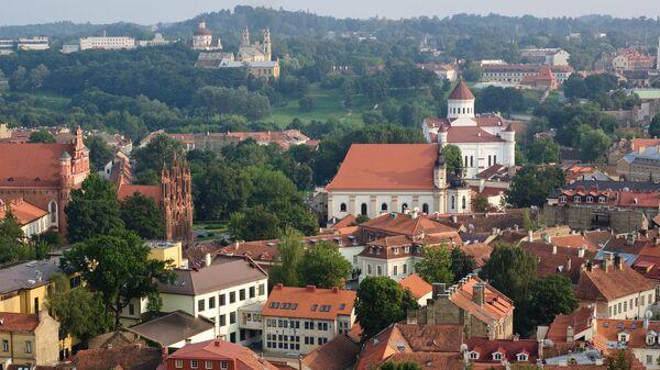 Вид старого города, Вильнюс, Литва, архивное фото - Sputnik Армения
