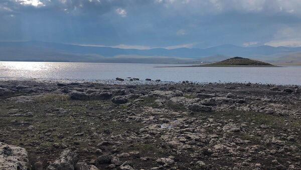 Озеро Арпи около села Гарнарич, Ширак - Sputnik Արմենիա