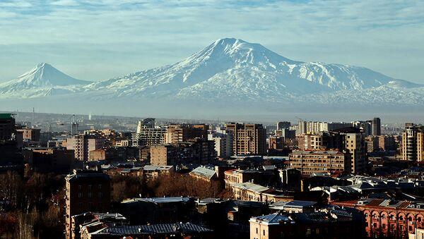 Гора Арарат. Ереван, Армения - Sputnik Արմենիա