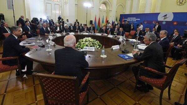 Расширенное заседание Высшего Евразийского Экономического Совета (1 октября 2019). Еревaн - Sputnik Армения