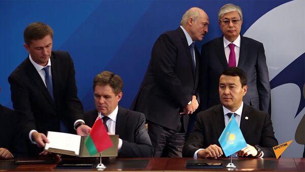 Церемония подписания соглашения о создании ЗСТ между ЕАЭС и Сингапуром - Sputnik Армения