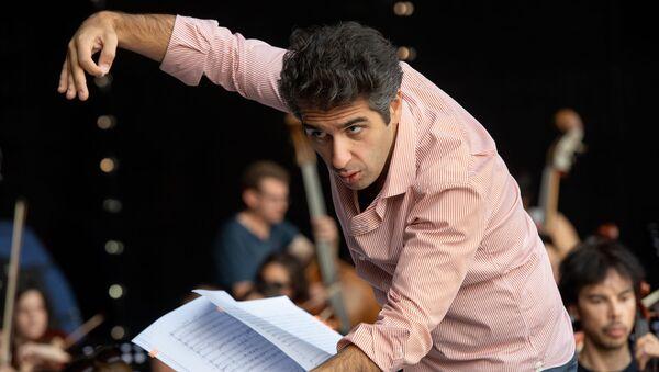 Репетиция оркестра WCIT перед концертом - Sputnik Армения