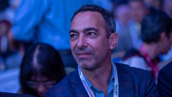 Юрий Джоркаефф на церемонии открытия WCIT 2019 (7 октября 2019). Еревaн - Sputnik Армения