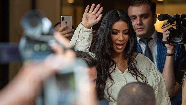 Ким Кардашян — американская звезда реалити-шоу, актриса, фотомодель (7 октября 2019) Еревaн - Sputnik Արմենիա