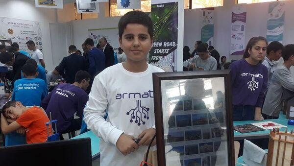 Григор Магзанян, участник выставки DigiTec Expo 2019 - Sputnik Армения