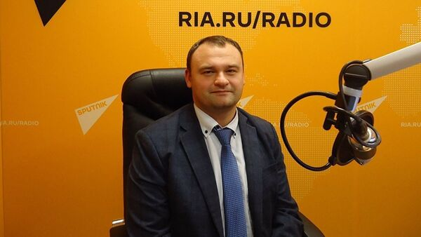 Политолог Константин Блохин  - Sputnik Армения