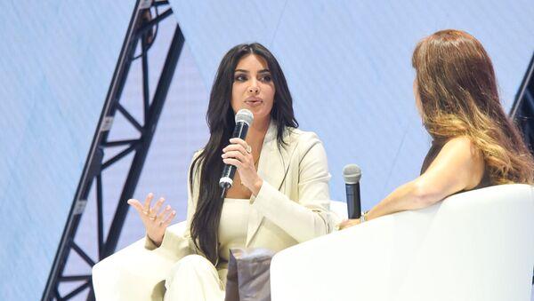 Ким Кардашьян на форуме WCIT 2019 (8 октября 2019). Ереван - Sputnik Արմենիա