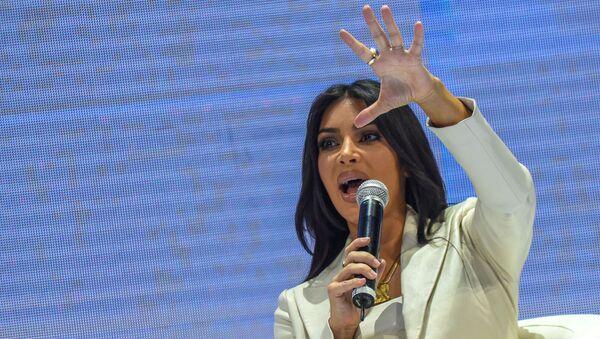 Ким Кардашьян на форуме WCIT 2019 (8 октября 2019). Ереван - Sputnik Армения