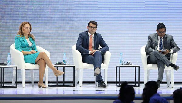 Форум WCIT 2019 (8 октября 2019). Ереван - Sputnik Արմենիա