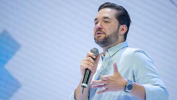 Алексис Оганян на форуме WCIT 2019 (8 октября 2019). Ереван - Sputnik Армения