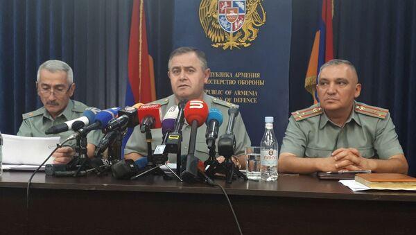 Начальник Генерального штаба Артак Давтян (8 октября 2019) Ереван - Sputnik Армения
