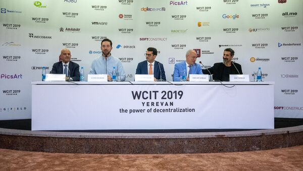 Пресс-конференция (8 октября 2019). Еревaн - Sputnik Արմենիա