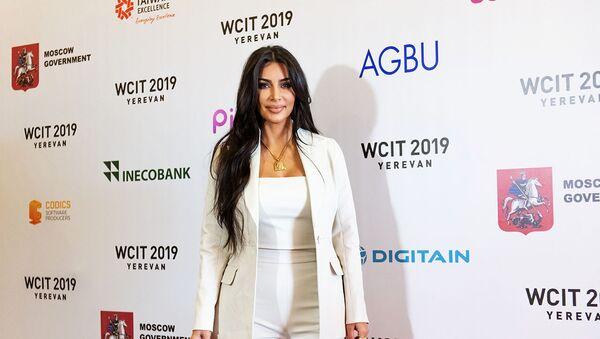 Армения вдохновила Ким Кардашьян на новые бизнес-проекты - Sputnik Армения